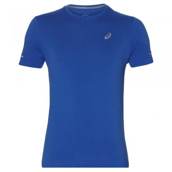 koszulka asics seamless ss top m niebieska