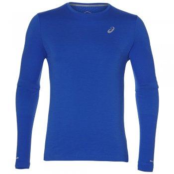 bluza asics seamless long sleeve m indygo