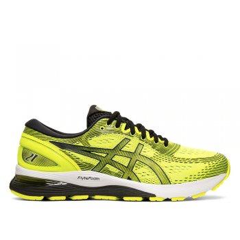 buty asics gel-nimbus 21 m czarno-Żółte