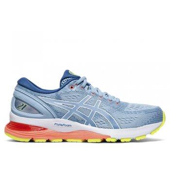 buty asics gel-nimbus 21 w niebieskie-Żółte
