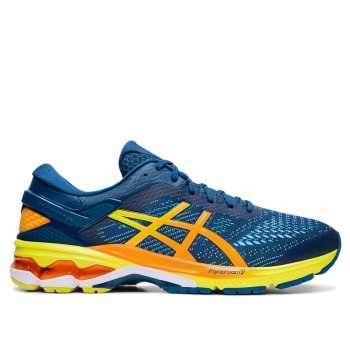 buty asics gel-kayano 26 blue/sour