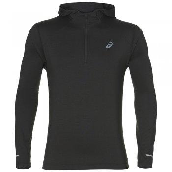 bluza asics longsleeve hoodie race m szara