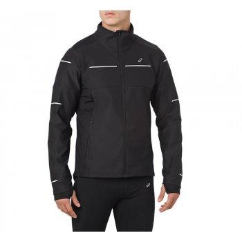 kurtka asics lite-show winter jacket m czarna