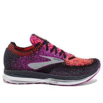 buty brooks bedlam w czarno-fioletowe