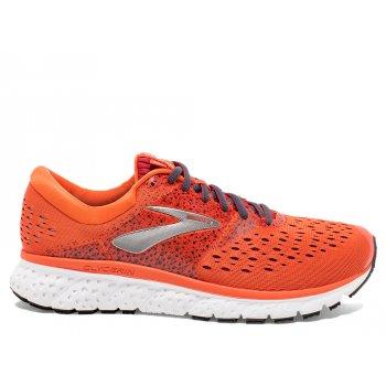buty brooks glycerin 16 m szaro-pomarańczowe