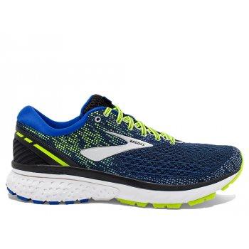 buty brooks ghost 11 m jaskrawo-Żółto-niebieskie
