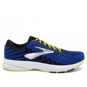 buty brooks launch 6 m Żółto-czarno-niebieskie