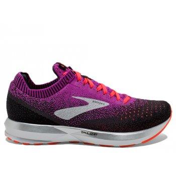 buty brooks levitate 2 w czarno-fioletowe