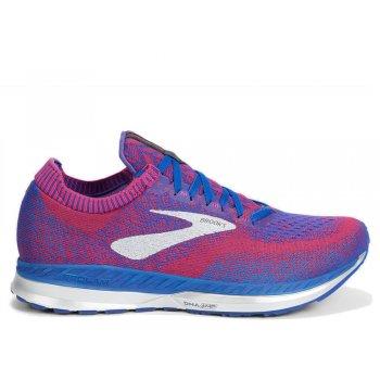 buty brooks bedlam w niebiesko-różowe