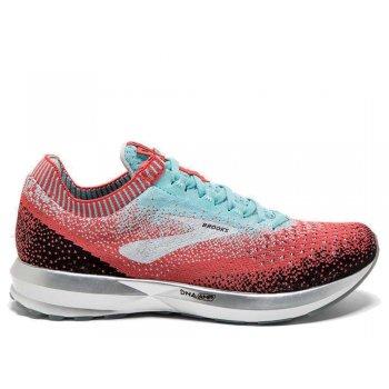buty brooks levitate 2 w miętowo-czerwone