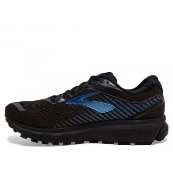 buty brooks  ghost 12 gtx m niebiesko-czarne