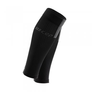 opaska kompresyjna cep calf sleeves 3.0 m szaro-czarne