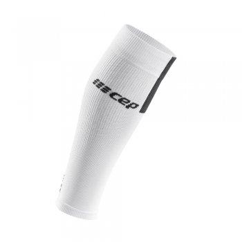 opaska kompresyjna cep calf sleeves 3.0 m szaro-biała