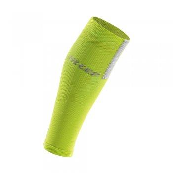 opaska kompresyjna cep calf sleeves 3.0 m szaro-zielona