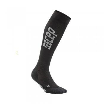 skarpety cep run ultralight socks m szaro-czarne