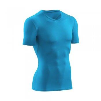koszulka cep wingtech shirt short sleeve m niebieska
