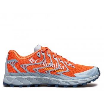 buty columbia rogue f.k.t. ii w szaro-pomarańczowe