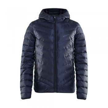 kurtka craft lt down jacket m granatowa