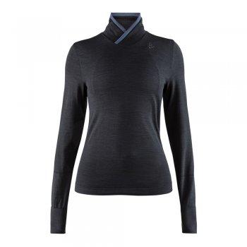 koszulka craft fuseknit comfort wrap w czarna