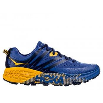 buty hoka speedgoat 3 m Żółto-niebieskie