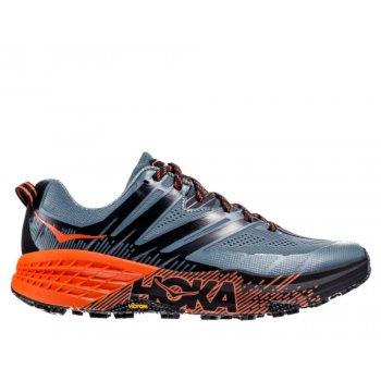 buty hoka speedgoat 3 m pomarańczowo-szare