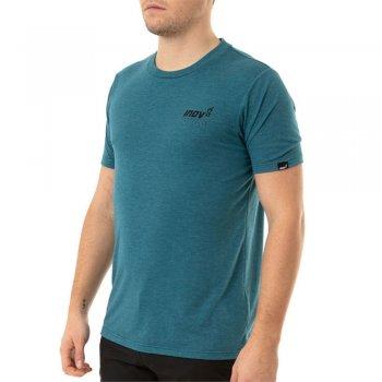 koszulka inov-8 triblend forged ss tee m morski-niebieski