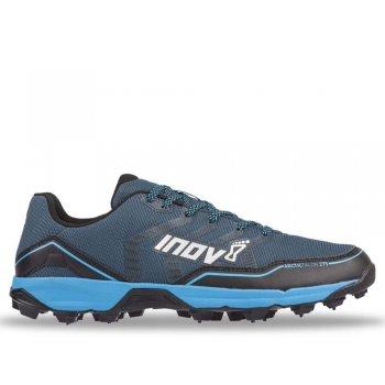 buty inov-8 arctictalon 275 m niebiesko-czarne