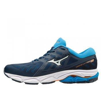 buty mizuno wave ultima 11 m biało-niebieskie