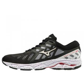 buty mizuno wave ultima 11 m czarno-białe