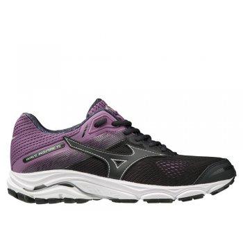 buty mizuno wave inspire 15 w fioletowo-czarne