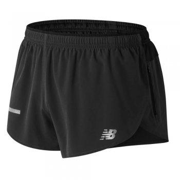 spodenki new balance impact split 3 inch shorts m czarne