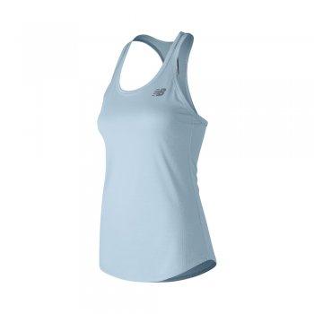 koszulka new balance accelerate tank v2 air w stalowo-niebieska