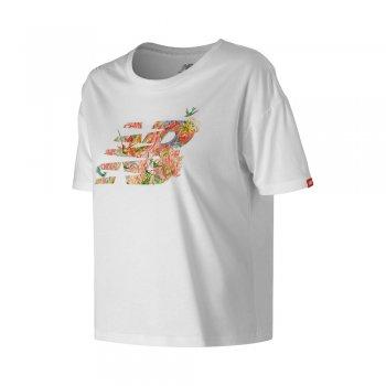 koszulka new balance sweet nectar top w biała