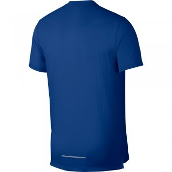 koszulka nike rise 365 short-sleeve top m niebieska