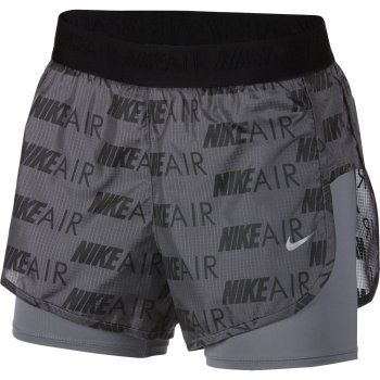 spodenki nike air shorts w czarno-grafitowe