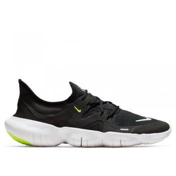 buty nike free rn 5.0 w biało-czarne
