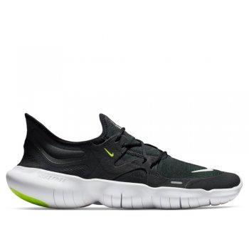 buty nike free rn 5.0 m biało-czarne