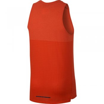 koszulka nike rise 365 tech pack tank m pomarańczowa