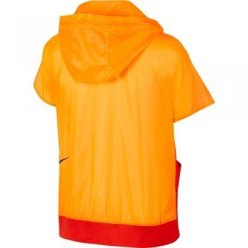 bluza nike sportswear tech pack gilet w pomarańczowa