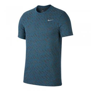 koszulka nike dri-fit windrunner burnout m niebieska