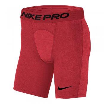 spodenki nike pro training shorts m czerowne