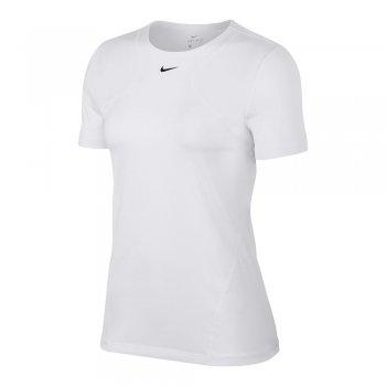koszulka nike pro 365 short-sleeve top essential w biała