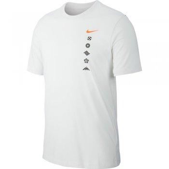 koszulka nike dri-fit tee ekiden m biała