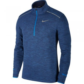 bluza nike therma sphere element top half-zip 3.0 m niebieska