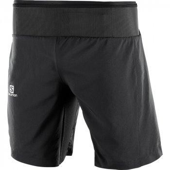 spodenki salomon trail runner twinskin short m czarne