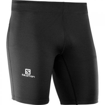 spodenki salomon agile short tight m czarne