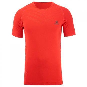koszulka salomon sense pro tee m czerwona