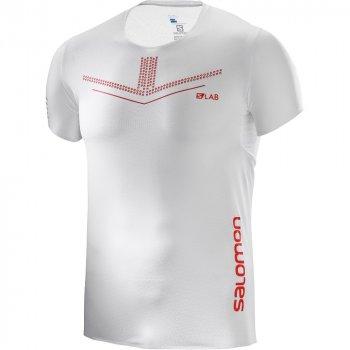 koszulka salomon s-lab sense tee m biała