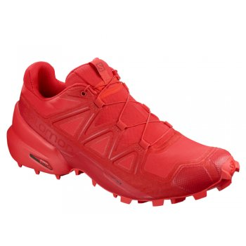 buty salomon speedcross 5 m płomienno-czerwone