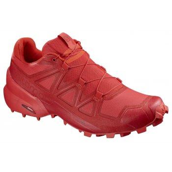 buty salomon speedcross 5 w płomienno-czerwone
